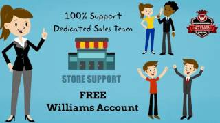 Williams Trading Co. New Quick Shipment for Wholesalers