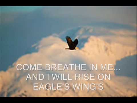 Eagles wing with lyrics