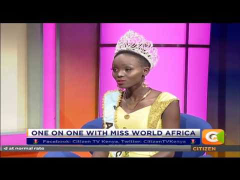 One on One with miss world Africa