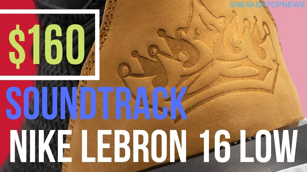 """c2389f29b6e5 The Nike LeBron 16 Low """"Soundtrack"""" Is Inspired By OutKast s ..."""