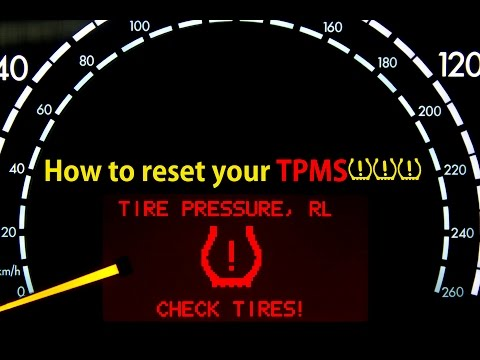 How To Re Set Tpms Tire Pressure Monitor System Diy Doovi