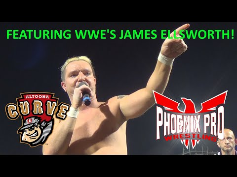 Phoenix Pro Wrestling @ The Altoona Curve (Featuring WWE's James Ellsworth)