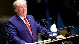 Дональд Трамп на Генассамблее ООН   24.09.19