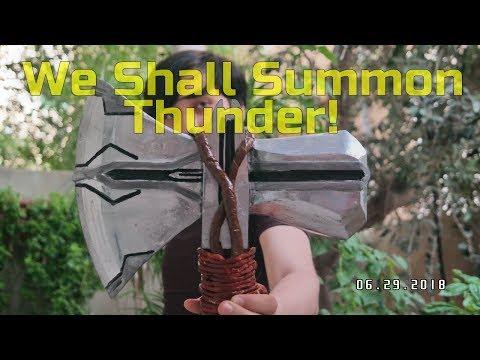 Making Thor's Stormbreaker from Avengers: Infinity War (DIY)