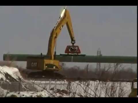 Gas Pipe Storage   Massillon, Ohio Feb  28, 2015