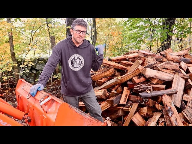 Easiest Way To Stack Firewood