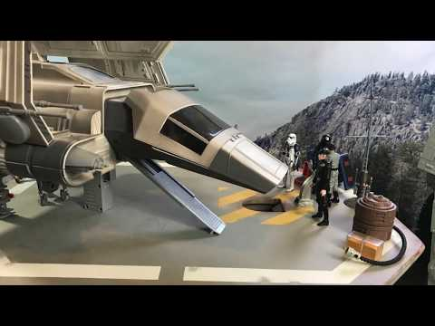 Action Figures! Star Wars ROTJ Imperial Landing Platform: Endor Visitors Part 1