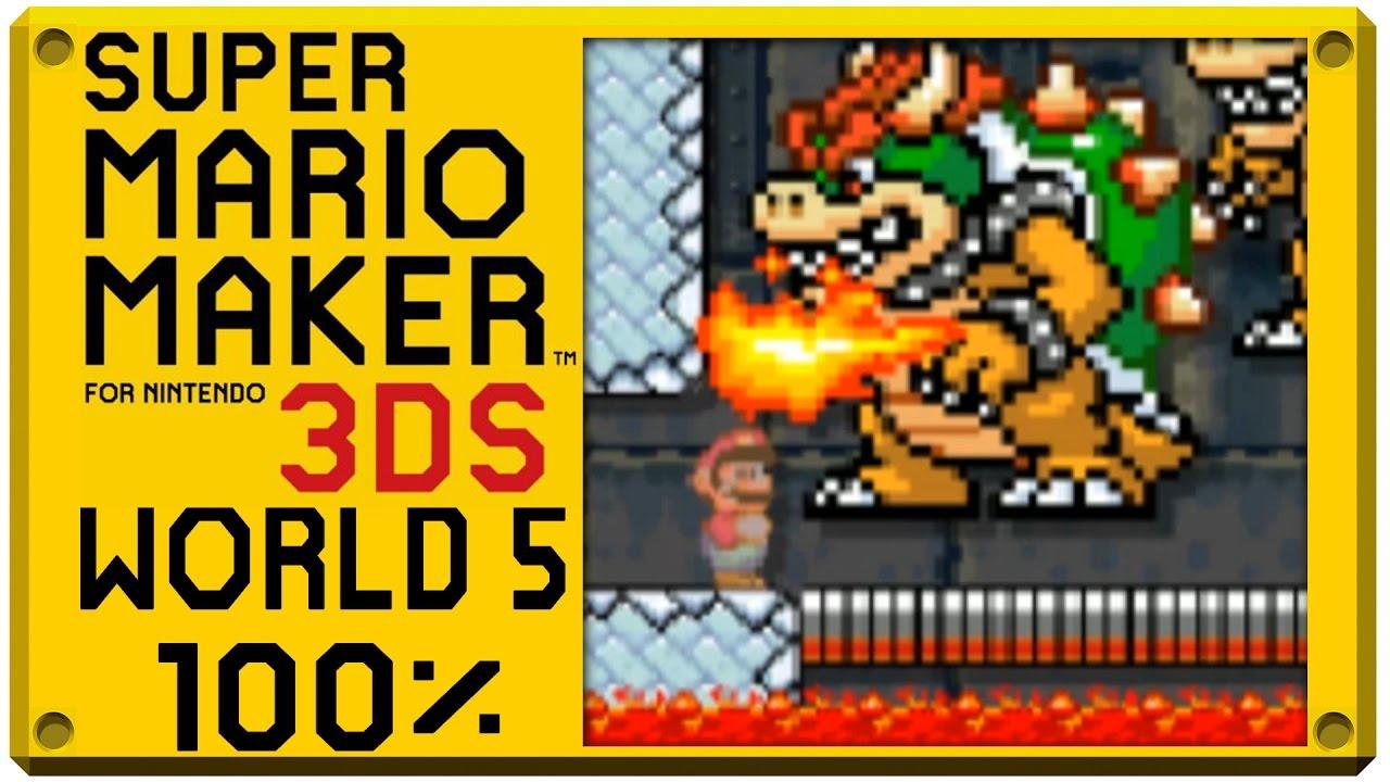 f48fc6d1387 Super Mario Maker for Nintendo 3DS - World 5