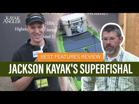 Jackson Kayak's SUPerFISHal   Fishing SUP   Features Overview And Walk Around