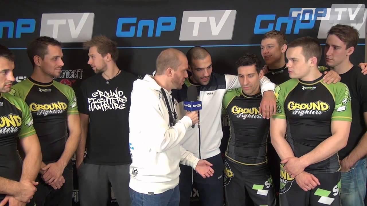 DGL Finale 2013: Ground Fighters Hamburg im GnP-TV Interview