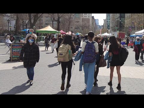 Walking NYC : Union Square, East Village, & St. Mark's Place, Manhattan (March 26, 2021)