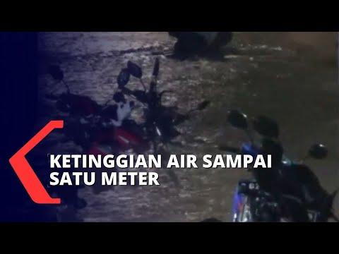 Wilayah Padat Penduduk dan Jalan di Jakarta Terendam Banjir Akibat Hujan Sejak Dini Hari