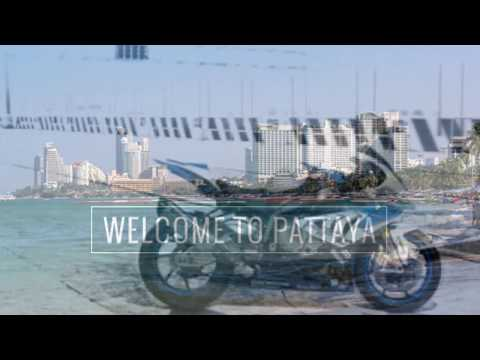 BMW HP4 Comp: Bangkok to Pattaya Sept 2015