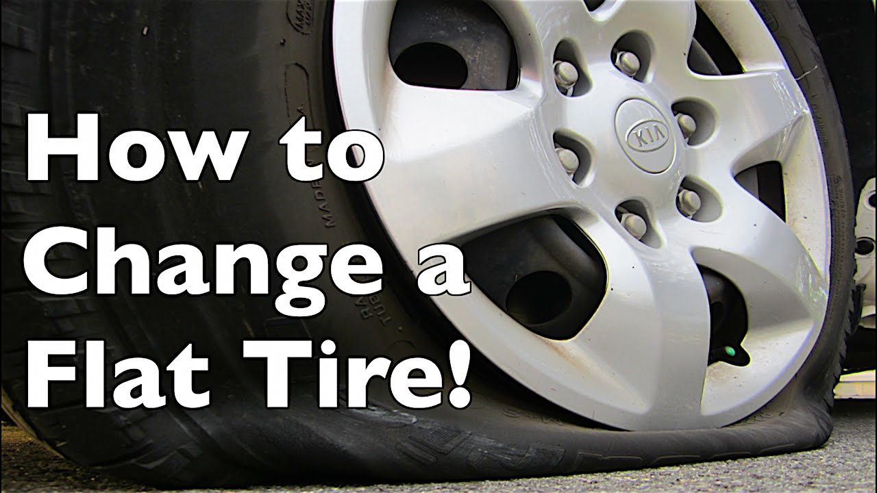 12 Simple Steps to Change a Tire!