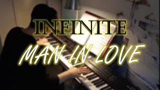 """평범한 회사원의 """"인피니트(INFINITE) - 남자가 사랑할 때(Man in Love) 피아노 커버 / P…"""