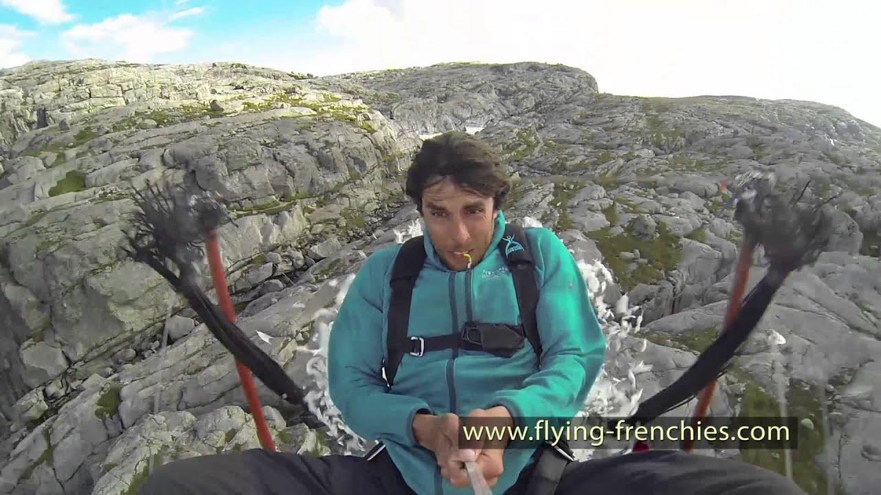 Летање над Алпите со катапулт