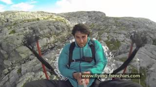 OFFICIAL : The Flying Frenchies catapult to base jump, angry bird style