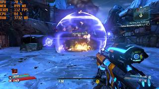 GTX 1060 6GB + i5 7500 - Borderlands 2 [Max Settings + PhysX/1080p]