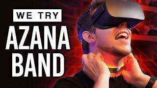 *REAL PAIN* in VR! (World First Demo of the Azanaband)