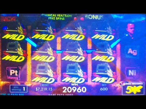 ++NEW Breaking Bad slot machine, G2E 2015, IGT
