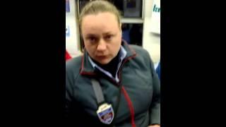 Контра в электричке Тверь- Москва