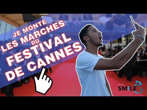 JE MONTE LES MARCHES DU FESTIVAL DE CANNES !!!