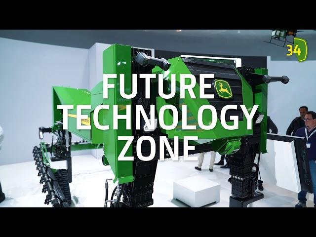 Agritechnica 2019 John Deere Standtour - Innovationen