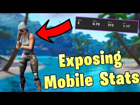 EXPOSING Mobile Players' Stats (so Bad)