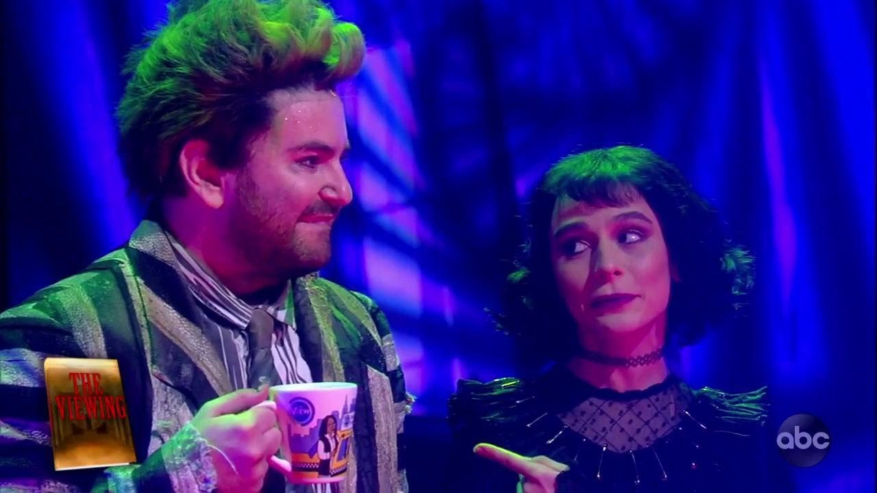 Beetlejuice The Musical Performs Day O That Beautiful Sound The View Youtube