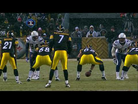 2008 Divisional Round Chargers @ Steelers