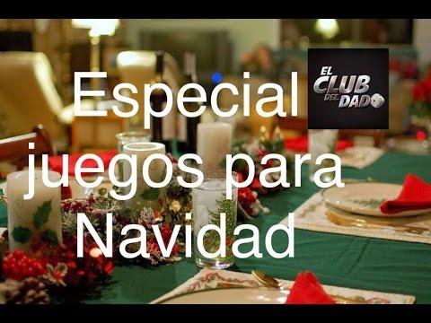 Juegos Para Navidad Por El Club Del Dado Youtube