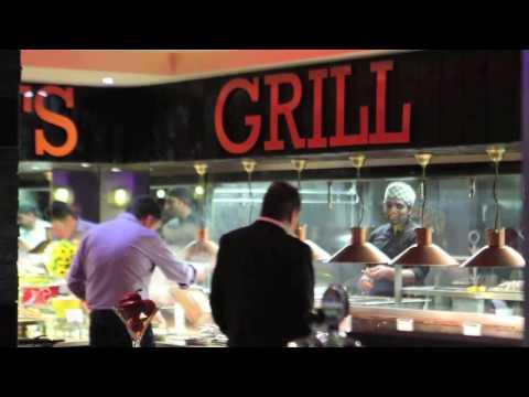Peachy Keens - Indian Buffet Restaurant. Leeds, Millenium Square.