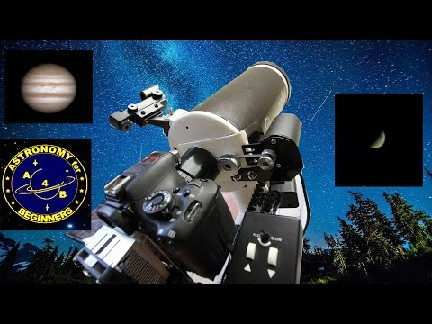 How to image Planets and the Moon using a DSLR camera