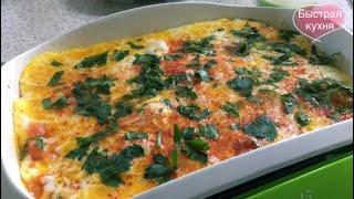 Великолепное сочетание - яйца, помидоры, сыр!