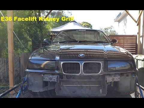 BMW E36 - Facelift kidney grill (nose cone) upgrade