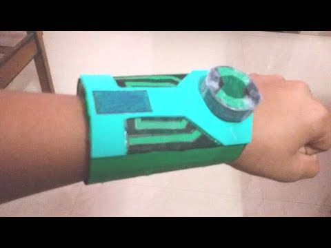 "how to make a paper ""BEN 10 ULTIMATRIX"""