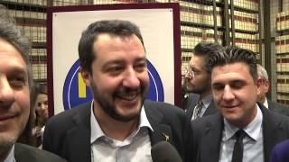 """Noi con Salvini - Salvini: """"al sud parte una bella sfida ce la giochiamo"""""""