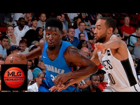 Oklahoma City Thunder vs Brooklyn Nets Full Game Highlights / July 7 / 2018 NBA Summer League