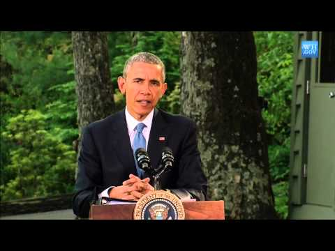 Obama At Camp David - Full Press Conference