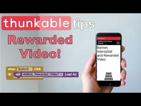 Rewarded Video Ads in Thunkable