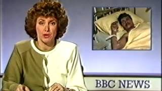 Barry Norman diverts his attention: BBC1 junction and news headlines, 28th December 1985