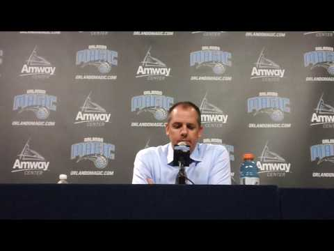 Frank Vogel San Antonio Spurs Preseason Postgame Interview