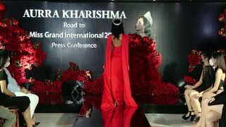 "Aurra Kharishma "" Road To Miss Grand International 2020"" Press Conference"