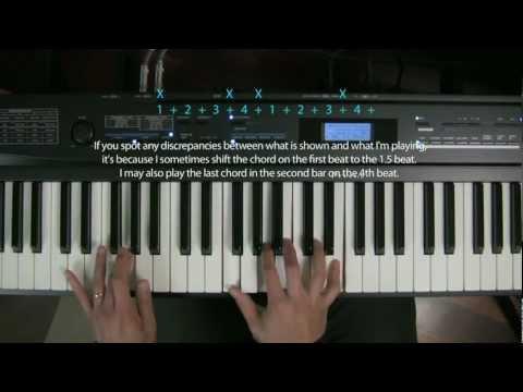 Piano chords improvisation