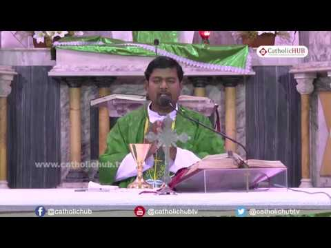 English Mass @ St Joseph's Cathedral, Hyderabad, TS, INDIA, 22-06-17