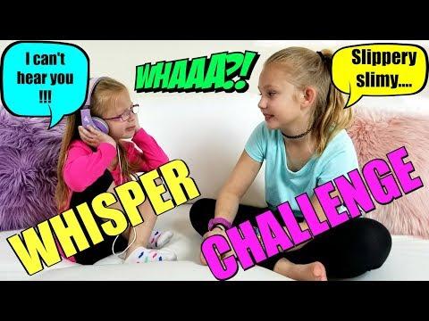 THE WHISPER CHALLENGE!!!