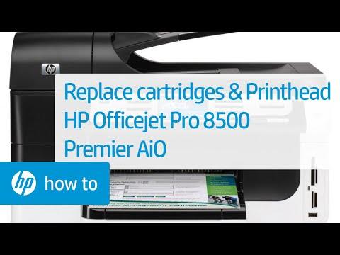 HP OfficeJet Pro 8500 WIRELESS A909g All-In-One Inkjet Printer
