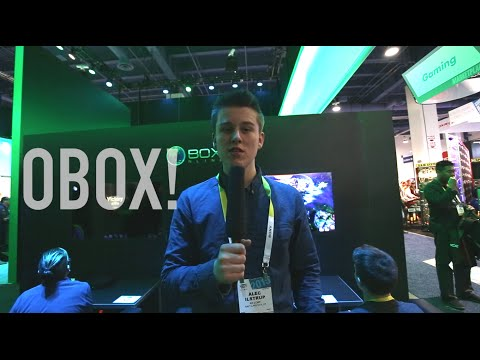 CES 2015: Obox Online Gaming Console!