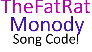roblox | TheFatRat-Monody | New Intro Music!