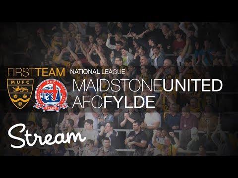 Maidstone United Vs AFC Fylde (14/04/18)